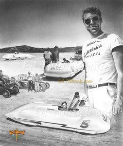 Image of &quot;Alex Xydias's Streamliner&quot; 11x17 print