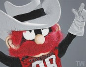 Image of Art | Mascot Series | Raider Red