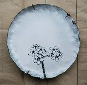 Image of Forget-me-not Enamel Plate