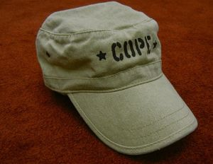 Image of Hat - Velcro Adjustable - Khaki Green