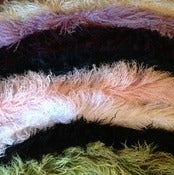 Image of tibetan long fur scarves