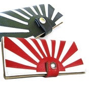 Image of Rising Sun ) Checkbook / Pocketbook Wallet