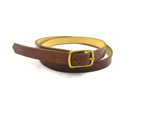 Image of The Easton Belt - Brown