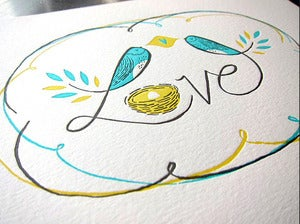 Image of ART TYPE #5 - Love Birds