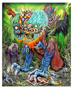 Image of The Harvest of Souls | by Skinner | Limited Edition Print