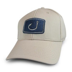 Image of Iconic Fitted Fishing Hat - Stone