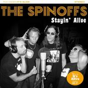 "Image of The Spinoffs – Stayin' Alive 7"" (Orange)"
