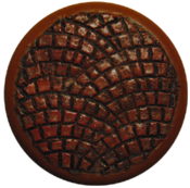 Image of Fishscale Brick Stamp