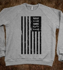 Image of DYNST Black Flag | Crew Neck