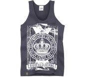 Image of Kings & Queens Of The Party Scene Vest Navy