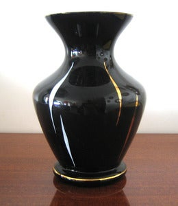 Image of VASE EN VERRE VINTAGE REF.090