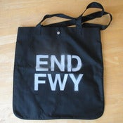 Image of END FWY RECORD TOTE BAG