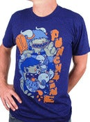 Image of Punchline<br>'Ice Cream Monster'<br>T-Shirt (Purple)