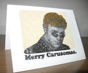Image of Merry Carusomas Card