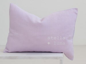 Image of pillow pale pink