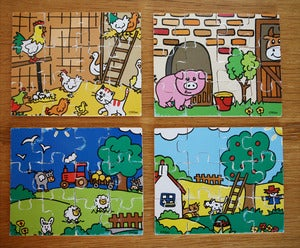 Image of PUZZLE EN BOIS  MARQUE VILAC REF.839