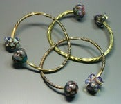 Image of Twisted Brass Bangles