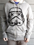 Image of Limited Charcoal Grey SLOTH TROOPER Zip-Up