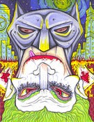Image of TOPSY-TURVY: Batman & Joker PRINT