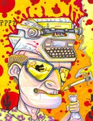 Image of Hunter S. Thompson: Gonzo Waltz PRINT