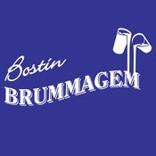 Image of Bostin Brummagem, Bostin Design - Royal Blue, available as Tee Shirt and Poster