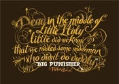 Image of Inkymole BIG PUN print
