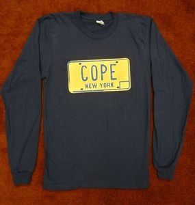 Image of New York License Plate - Long Sleeve