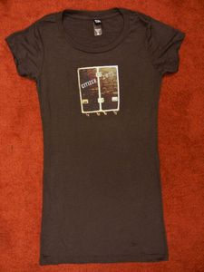 "Image of ""Roadcase"" Burnout Tunic Tee"
