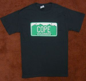 Image of Colorado License Plate Tee