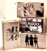 Image of Vintage Photographs of Sisters Matchbox