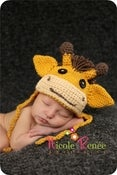 Image of Zoe the Giraffe Hat