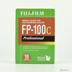 Image of Fujifilm FP-100C Professional Color Instant Film