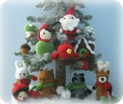Image of Christmas Ornament Crochet Pattern