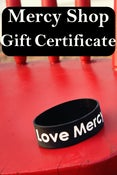 Image of Mercy Shop Gift Certificates