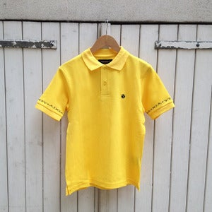 Image of Sound Pellegrino polo shirt by Phenomenon (YELLOW)
