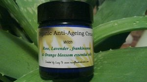 Image of Organic Anti ageing facecream created by Lucy B of Sunflower retreats