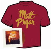 "Image of Matt Pryor - May Day CD/12"" and t-shirt"