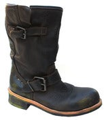 Image of No.0002 INTERSECTION steel toe biker boot Brown