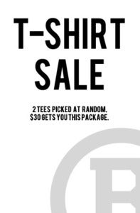 Image of 2 Mystery Tees for $30