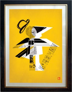 Image of Birdman Art Print Framed