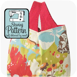 Image of Grocery Bag PDF Sewing Pattern