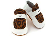 Image of Baby Penny Loafer - leopard $44.00