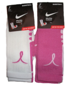 Image of Nike Elite Breast Cancer Awareness Sock