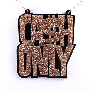 Image of Cash Only Necklace