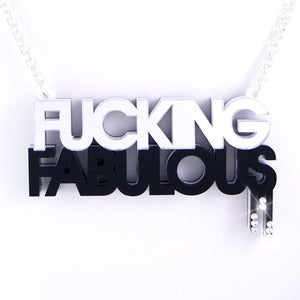Image of Fucking Fabulous Necklace