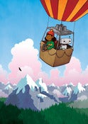 Image of Super Robot Friends - Hot Air Ballooning