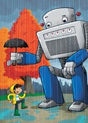 Image of Super Robot Friends - Autumn Showers