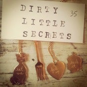 Image of dirty little secrets necklace (custom available!)