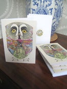 Image of Great Grey Owl Card