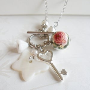 Image of Memento Charm Necklace